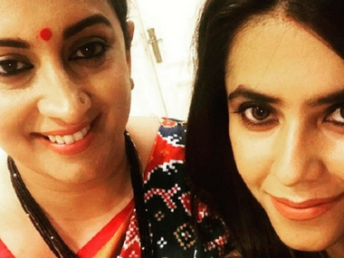 Smriti Irani, Ekta Kapoor reunite at ITA Awards; we decode what they could possibly be discussing