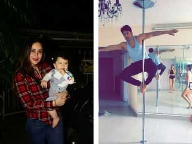 Taimur Ali Khan's day out; Varun Dhawan's pole dance session: Social Media Stalkers' Guide