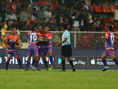 ISL 201718 Pune come back from goal down to beat Mumbai City FC in thrilling Maharashtra derby