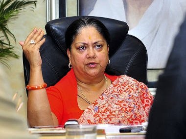 Vasundhara Raje rolls back mandatory uniforms in Rajasthan colleges cites student unhappiness as reason