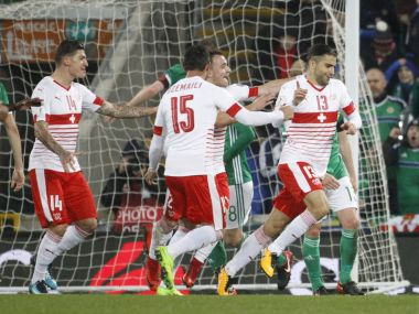 FIFA World Cup 2018 qualifiers Northern Ireland livid at Switzerlands controversial goal Croatia cruise