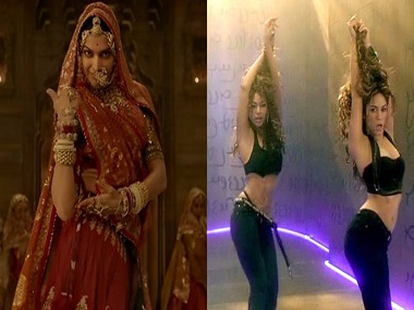 Today in Wait, What? — Padmavati's Ghoomar makes Shakira and Beyoncé groove