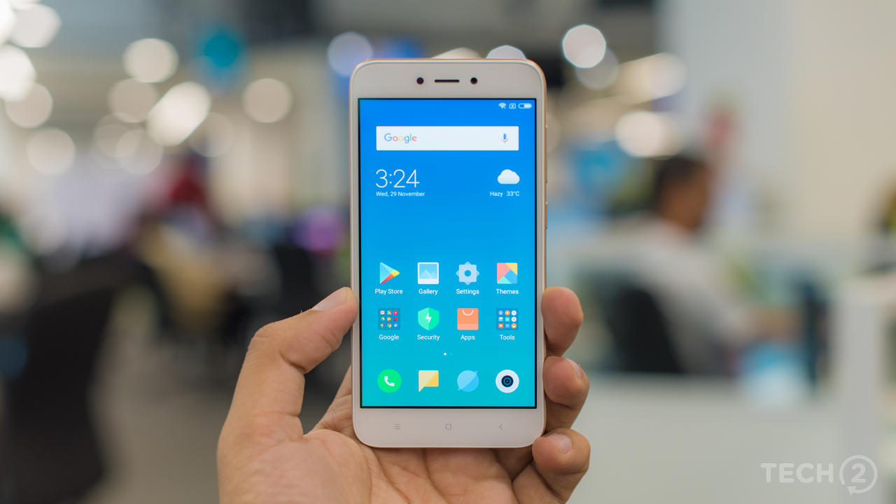 Xiaomi Redmi 5A, an entry-level smartphone for INR 4999