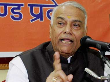 Yashwant Sinha's agitation over farmers' issues an alarm bell for Maharashtra govt: Shiv Sena