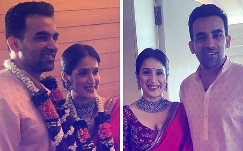 Zaheer Khan ties the knot with Sagarika Ghatge in Mumbai, see photos
