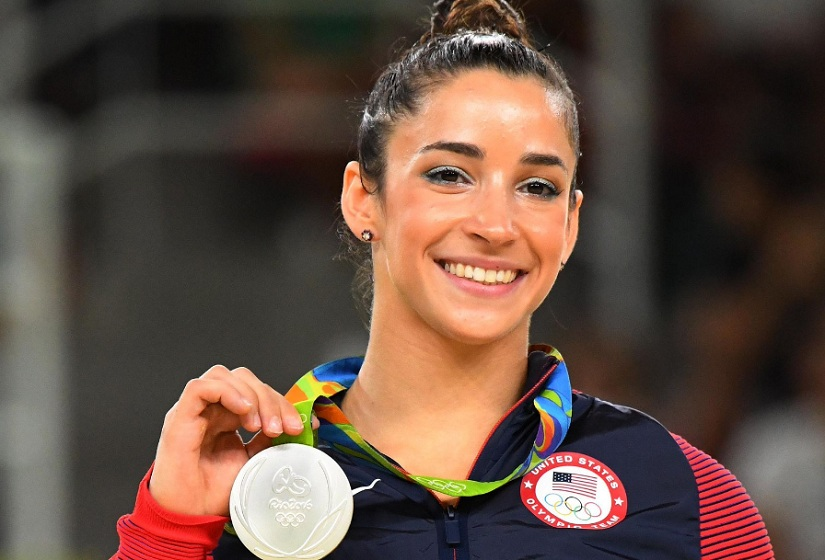 Aly Raisman. Image from Twitter/@GymCastic