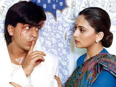 In Anjaam, Shah Rukh Khan played an unapologetic sociopath different from his characters in Darr, Baazigar