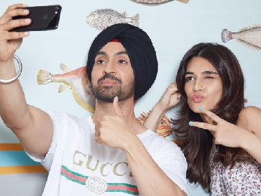 Kriti Sanon, Diljit Dosanjh team up for Dinesh Vijan's Arjun Patiala; film to go on floors in February 2018