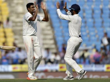 India vs Sri Lanka: Over-cautious visitors skittled out on Day 1 of Nagpur Test as Ravichandran Ashwin nears milestone