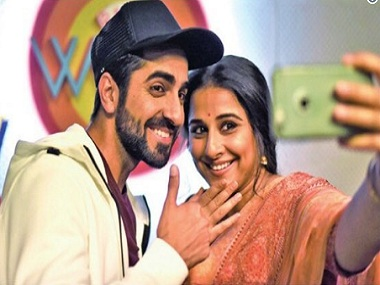Tumhari Sulu: Ayushmann Khurrana will play himself in a cameo in Vidya Balan's next
