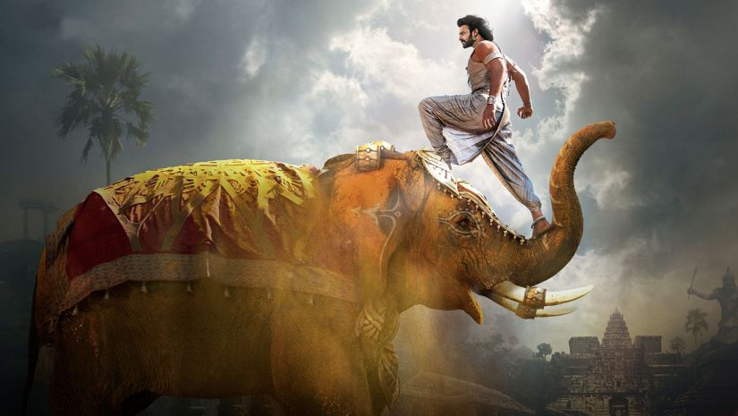 Wannabe Baahubali tries elephant stunt, gets flung in the air
