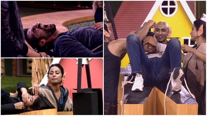 Gulliver's Travels, or Lord of the Flies? Scenes of torture and cruelty from episode 58 of Bigg Boss 11