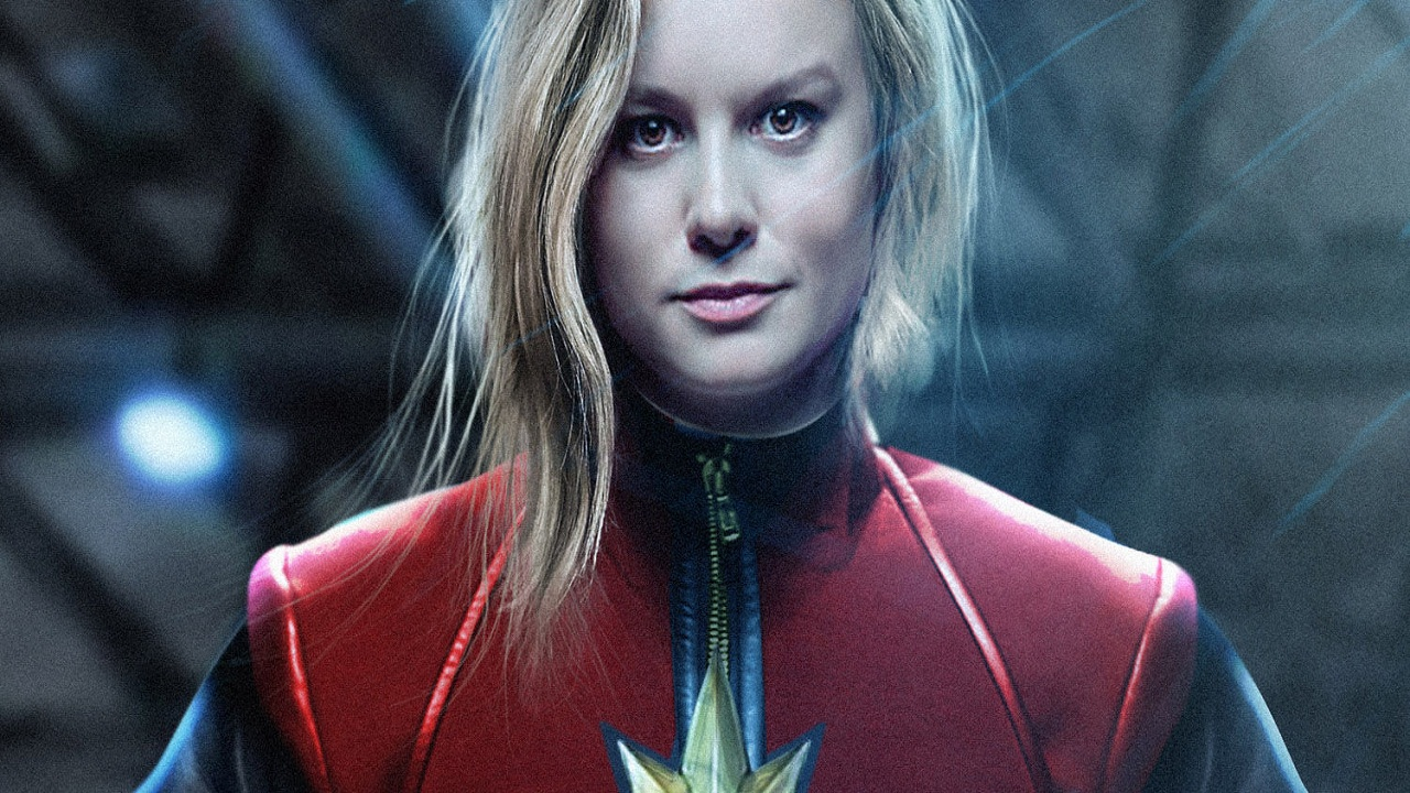 Brie Larson in a still from Captain Marvel. YouTube