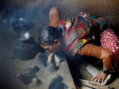 What is worse than breathing Delhi air Rural India chokes on solid fuel fumes every day