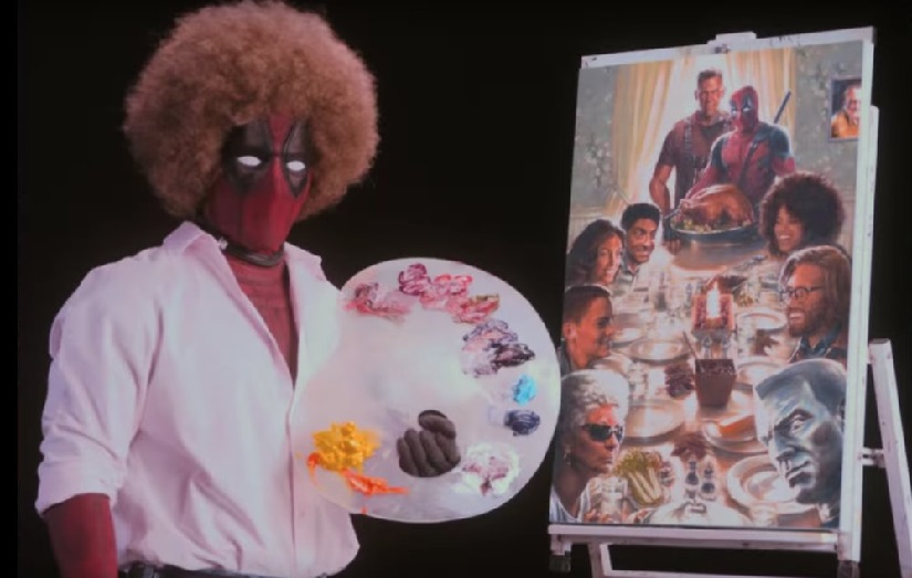 Youtube screengrab from the Deadpool 2 teaser.