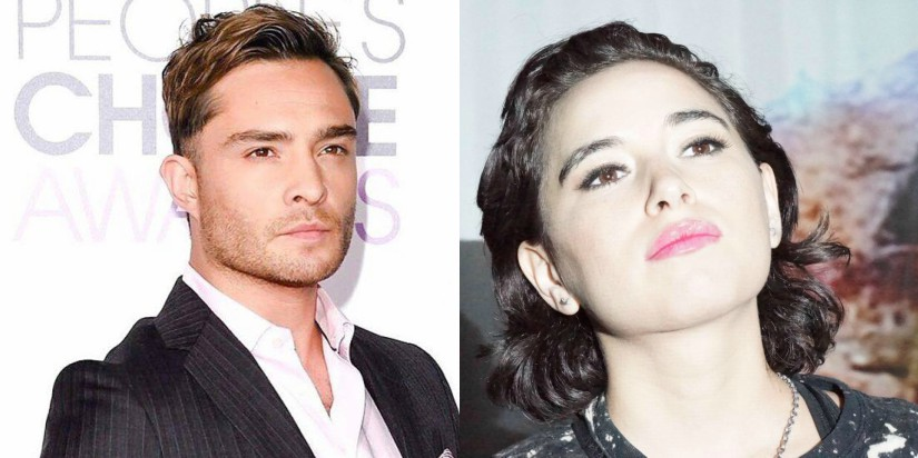 Ed Westwick and Kristina Cohen. Image from Facebook/@edwestwickofficial and @Kristina.Kruz.5