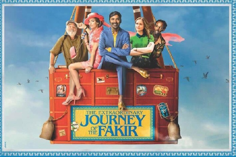 The Extraordinary Journey of the Fakir: Dhanush First Look is out