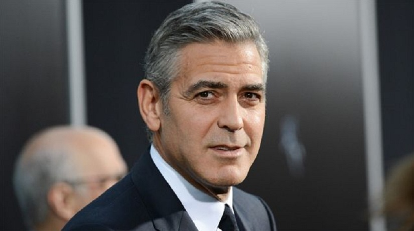 George Clooney. Image from Twitter/@talhamsajid