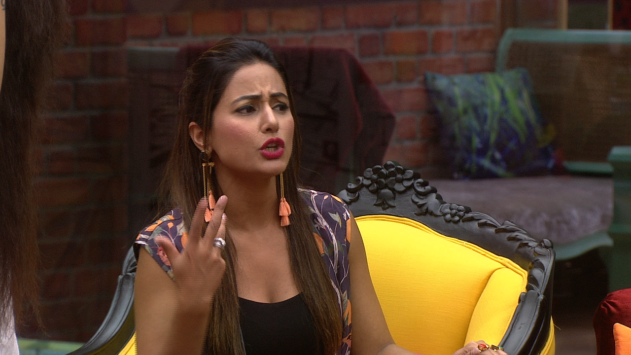 Hina Khan on Bigg Boss 11
