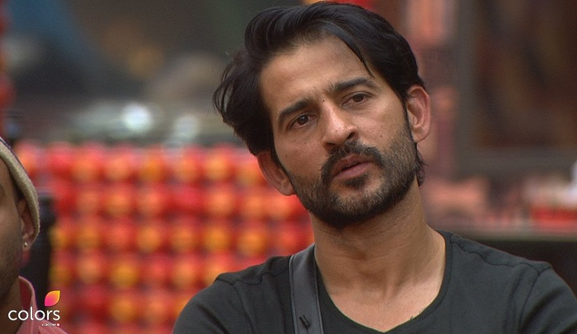 Hiten Tejwani on Bigg Boss 11. Image from Twitter/@biggboss