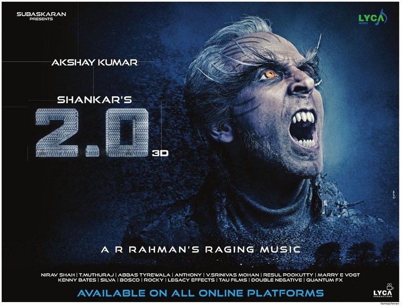 New poster of 2.0.