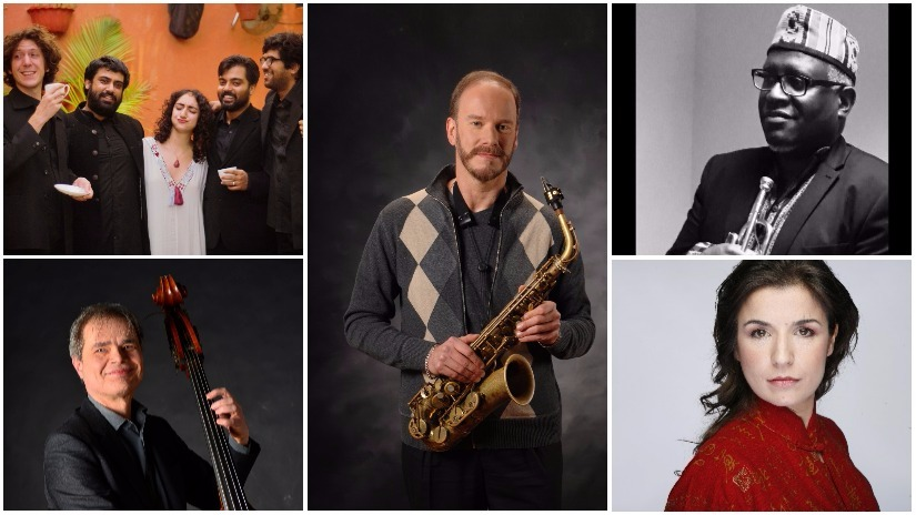Artists for the NCPA's International Jazz Festival