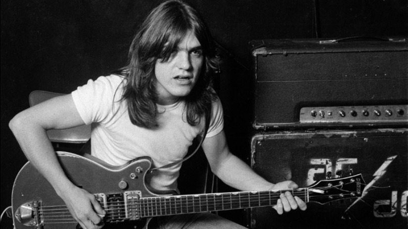Malcolm Young. Photo courtesy Facebook/@AC/DC