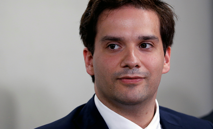 Mark Karpeles, chief executive of defunct bitcoin exchange Mt Gox, attends a news conference after a trial on charges of embezzlement in Tokyo, Japan July 11, 2017.  Image: Reuters/Toru Hanai.