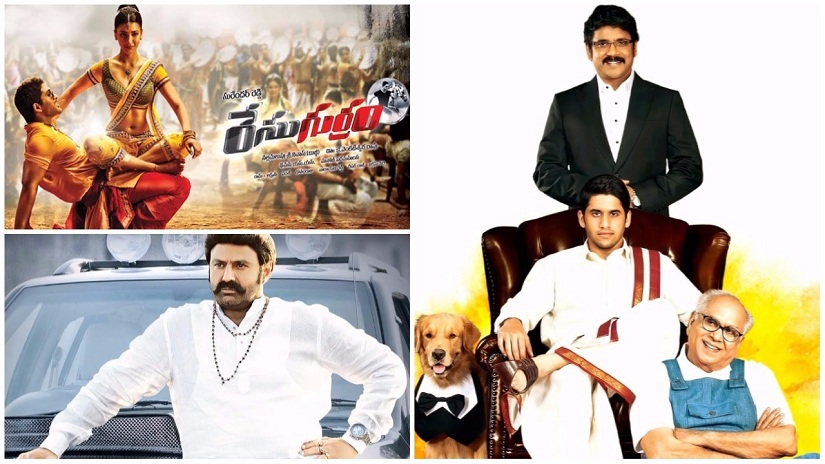 (Clockwise from top left) Race Gurram, Manam and Legend are three of the 2014 films that are at the eye of the storm over the Nandi Awards, conferred by the Andhra Pradesh government