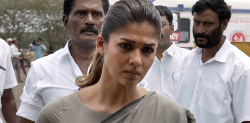 Nayanthara in a still from Ammal. YouTube