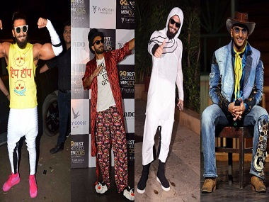 Ranveer Singh's sartorial style can only be described as different kinds of wacky — A Fashion Evolution