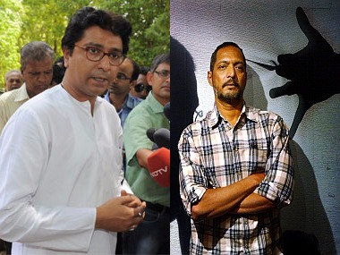 Raj Thackeray slams Nana Patekar over hawkers issue, says actor shouldn't talk of subjects he knows nothing about