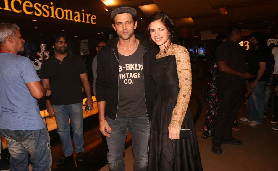 Hrithik Roshan, Jim Sarbh attend screening of Kalki Koechlin, Sumeet Vyas's film Ribbon