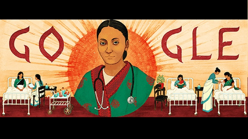 Google dedicates doodle to Rukhmabai Raut on her 153rd birthday