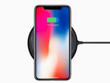 iPhone X wireless charging. Apple