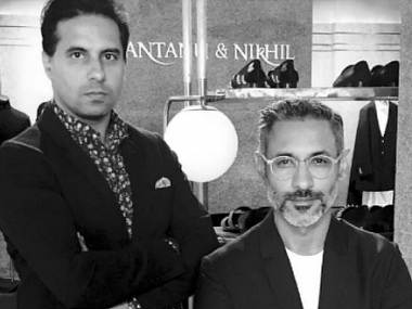 Shantanu & Nikhil say they find creative inspiration for their designs in 'India's cultural landscape'