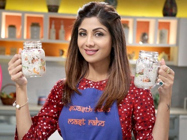 Shilpa Shetty's book, The Diary of a Domestic Diva, to release in January