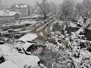 Jammu and Kashmir: Leh experiences coldest night of the season as temperature drops to -6.3 degree Celsius