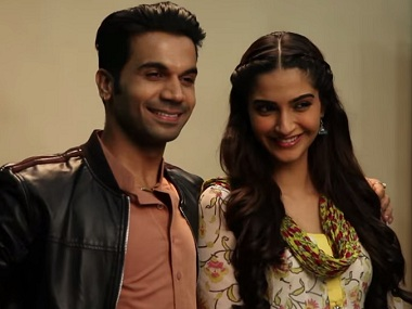 Rajkummar Rao might be cast opposite Sonam Kapoor in Ek Ladki Ko Dekha Toh Aisa Laga