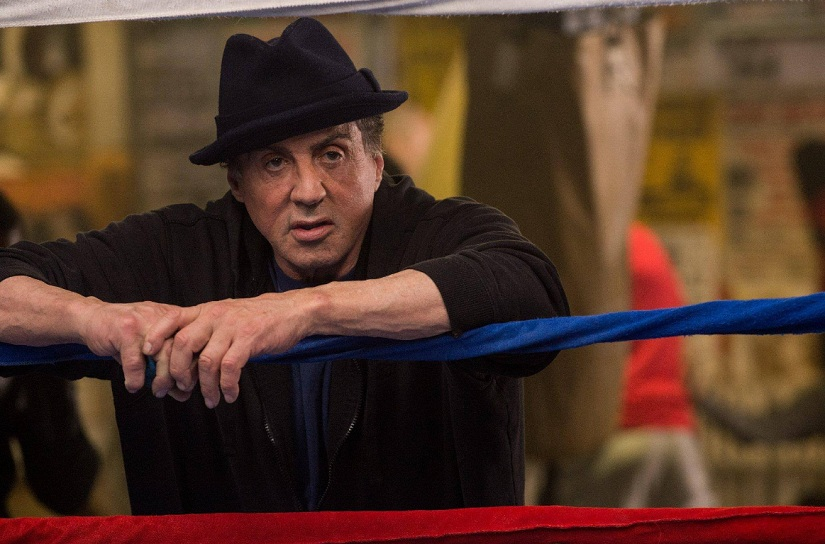 Sylvester Stallone. Image from Twitter/@ThePlaylist