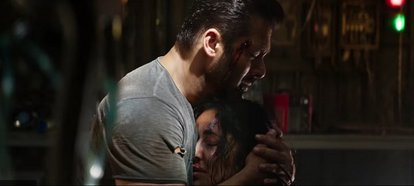Salman Khan and Katrina Kaif in a still from Tiger Zinda Hai. YouTube