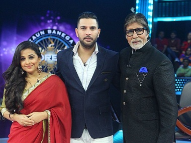 Kaun Banega Crorepati 9:  Yuvraj Singh, Vidya Balan and Kailash Satyarthi to appear in grand finale