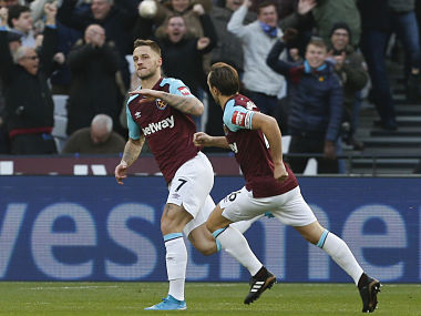 Premier League: Marko Arnautovic's early strike helps West Ham United down Chelsea