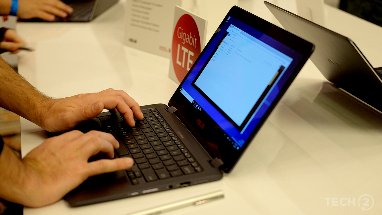 The Nova Go looks and feels like an ultrabook. Image tech2/Anirudh Regidi