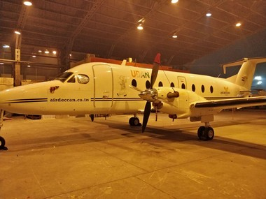 Air Deccan restarts flight services a month later in Maharashtra with Mumbai to Jalgaon flight