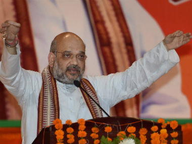 Amit Shah tells people to vote in large numbers to help rule of development win in Gujarat