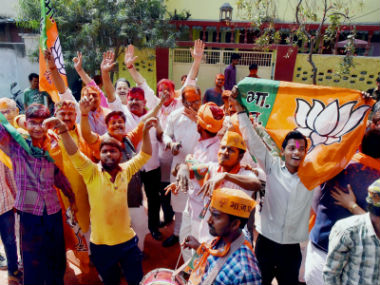 Gujarat Election Result 2017 BJP leads in 55 seats party confident of retaining power