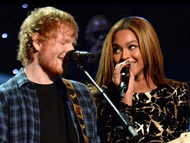 Beyonce tops Billboard Hot 100 chart for her duet song 'Perfect' with Ed Sheeran