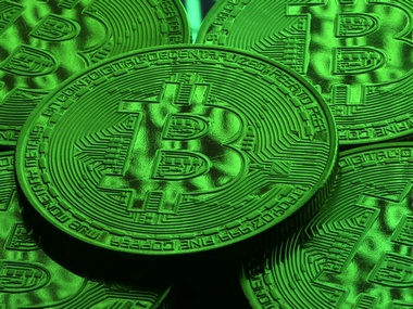Virtual currency Bitcoin tokens Image: Reuters