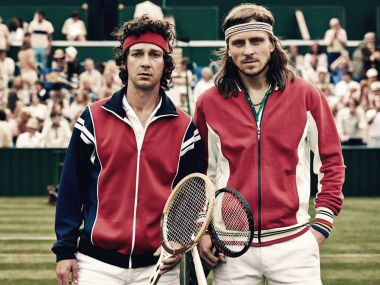Borg McEnroe movie review: Shia LaBeouf, Sverrir Gunason serve up volley of thrills in electrifying drama